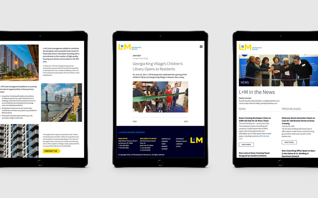 5fc8ddd7 L+M Development Partners Website – Firefly Design + Communications, Inc
